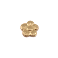 Brass Pansy Solderable Accent, 26g