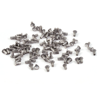 "Aluminum Hollow 1/16"" Rivets, 1/8"" Long"