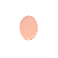 Copper Oval (12mmx 17.75mm), 24g