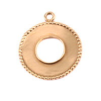 Brass Washer with Dotted Edge