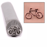 Racing Bicycle Design Stamp