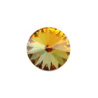 Swarovski Crystal Rivoli - Sahara 14mm