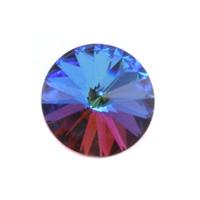 Swarovski Crystal Rivoli - Bermuda Blue 18mm