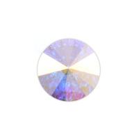 Swarovski Crystal Rivoli - Clear Crystal AB 14mm