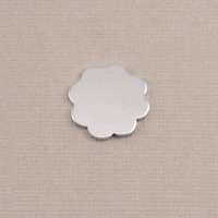 Aluminum Small 8 Petal Flower, 18g