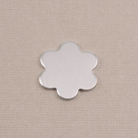 Aluminum Small 6 Petal Flower, 18g