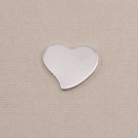 Aluminum Small Stylized Heart, 18g