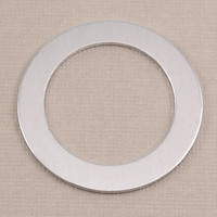 "Aluminum 1 1/4"" Washer with 7/8"" ID, 18g"