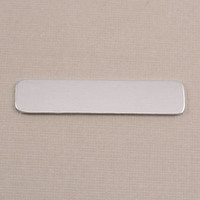Aluminum Large Long Rounded Rectangle, 18g