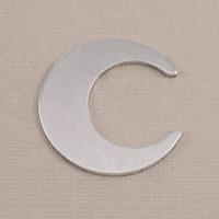 Aluminum Crescent Moon, 18g