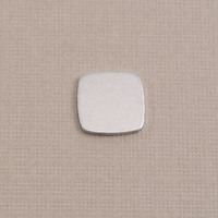 Aluminum Small Rounded Square, 18g