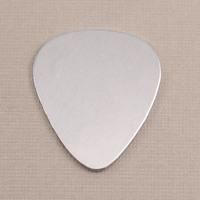"Aluminum ""Guitar Pick"" Blank, 18g"