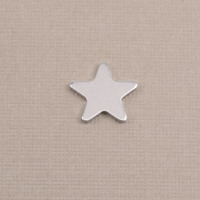 Aluminum Small Rounded Point Star, 18g