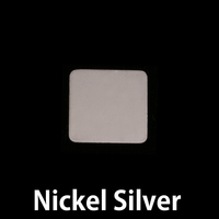 Nickel Medium Rounded Square, 24g