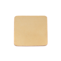 Brass Large Rounded Square, 24g