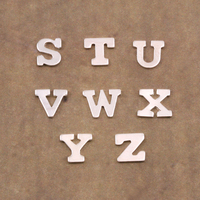Sterling Silver Letter Y, 24g