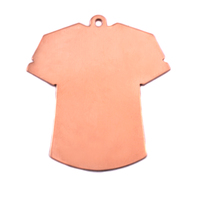 Copper T-Shirt Blank, 24g