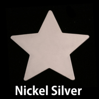 Nickel Large Star Blank, 24g