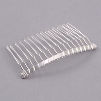 Silver Plated Hair Comb