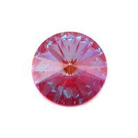 Swarovski Crystal Rivoli - Ultra Ruby AB 18mm