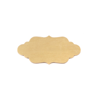 Brass Small Elegant Plaque, 24g