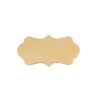 Brass Small Mod Plaque, 24g