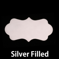Silver Filled Large Mod Plaque, 24g
