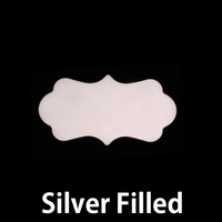 Silver Filled Small Mod Plaque, 24g