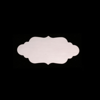 Sterling Silver Small Elegant Plaque, 24g
