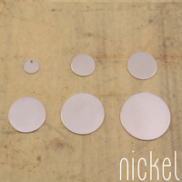 Nickel Silver Circles Sample Pack