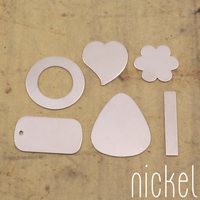 Nickel Silver Popular Blanks Sample Pack