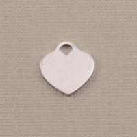 """Aluminum Small """"Tiffany Style"""" Heart, 18g"""