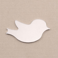 Aluminum Winged Bird Blank, 18g