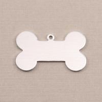 Aluminum Large Dog Bone with Top Loop, 18g