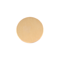 "Brass 5/8"" (16mm) Circle, 24g"
