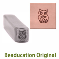 Baby Owl Design Stamp- Beaducation Original
