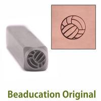 Volleyball Design Stamp - Beaducation Original