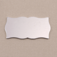 Aluminum Large Scholarly Plaque, 18g