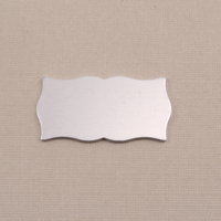Aluminum Small Scholarly Plaque, 18g