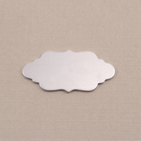 Aluminum Small Elegant Plaque, 18g