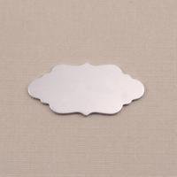 Aluminum Small Elegant Plaque, 18g