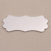 Aluminum Large Lanky Plaque, 18g