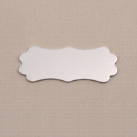 Aluminum Small Lanky Plaque, 18g