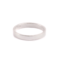 Thin Sterling Silver Ring, SIZE 10