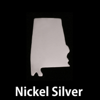 Nickel Silver Alabama State Blank, 24g