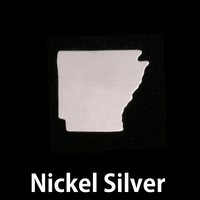 Nickel Silver Arkansas State Blank, 24g