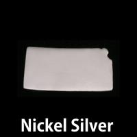 Nickel Silver Kansas State Blank, 24g