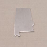 Aluminum Alabama State Blank, 18g