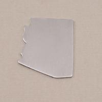 Aluminum Arizona State Blank, 18g