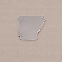 Aluminum Arkansas State Blank, 18g